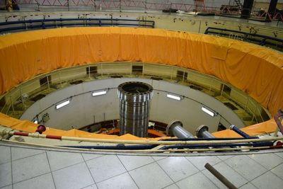 Continúan trabajos de rehabilitación y modernización de generadores de Yacyretá