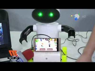 Robot enseña a hablar guaraní