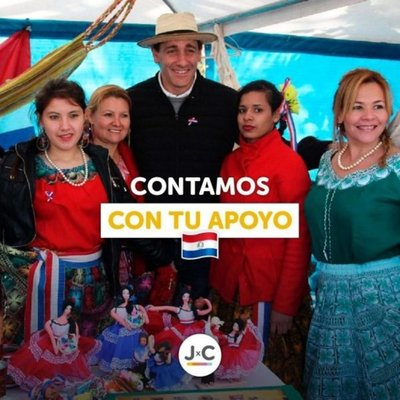 Argentino lanza campaña política en guaraní