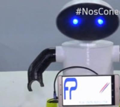 Kachirobot una creación didáctica para aprender guaraní