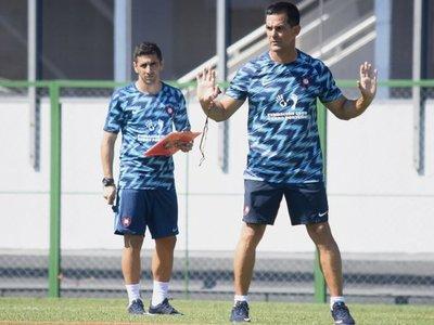 Bernay busca su estilo de juego para el debut oficial con Cerro Porteño