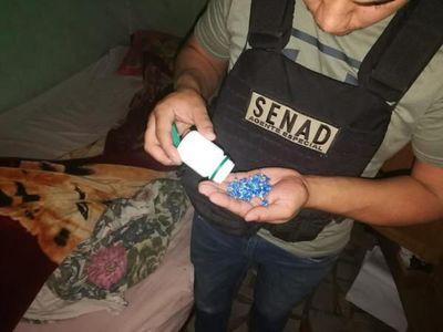 Senad elimina puesto de venta de crack en San Pedro
