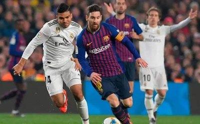 Aplazado el clásico del fútbol español Barcelona-Real Madrid