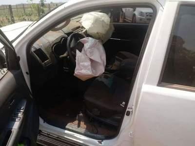 Concepción: Ocupantes de camioneta atacada se salvaron de milagro