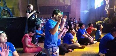 Exitoso concierto religioso con más de 5.000 personas