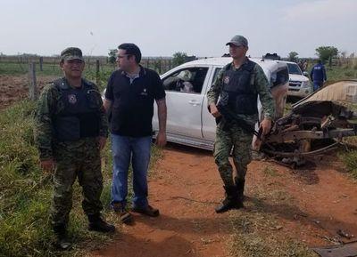 Con explosivos atacan vehículo de una estancia en la zona norte