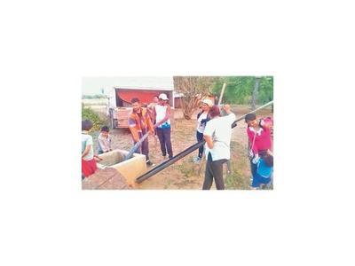 Distribuyen agua segura  en el Chaco