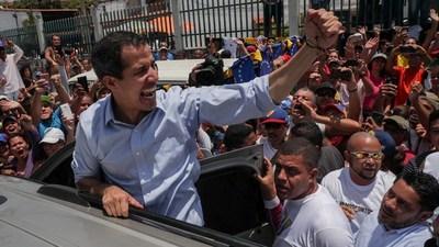 Guaidó convoca a nueva protesta contra Maduro para el 16 de noviembre