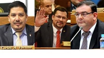 Rivas, Portillo y Quintana perderán investidura si son hallados culpables