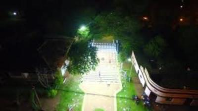 Iluminan el Paseo que lleva al Ykua Kurusu