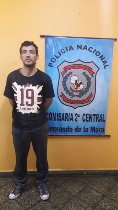 Recuperan vehículo robado esta madrugada en Asunción