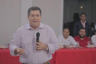 Fuerza empresarial de Coronel Oviedo respaldó gestión de Cartes