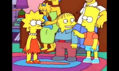 El personaje que sería Marito en los Simpsons