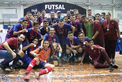 Cerro Porteño campeón nacional Sub 19