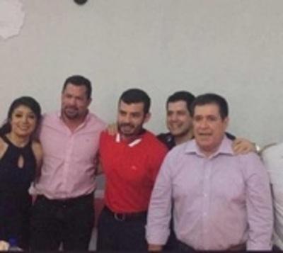 Cartes se reúne con Quintana y miembros de Honor Colorado en Caaguazú