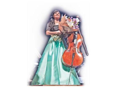 """""""Ese concierto fue un gran paso en mi carrera como cellista"""""""