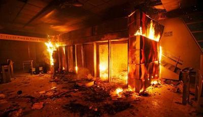 Confirman 3 muertes tras incendio durante protestas en Chile
