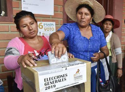 Comienza votación presidencial en Bolivia con difícil reto para Morales