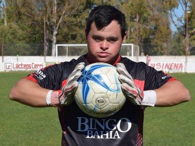 Giuliano Pambianco hace historia en el fútbol argentino