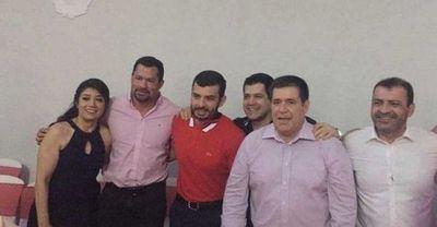 Ulises Quintana, en encuentro con dirigentes de Honor Colorado