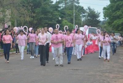Jornada ''rosa'' en Santa Rosa Misiones