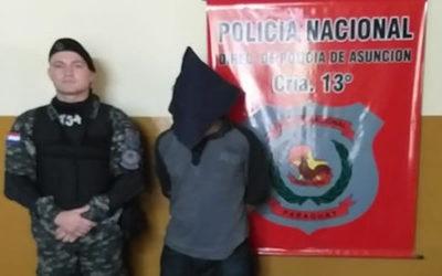 Serie de personas detenidas con orden de captura