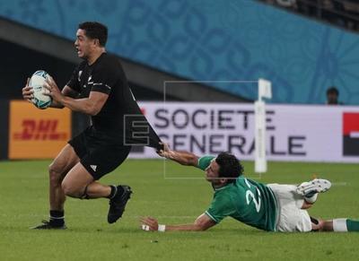 46-14. Nueva Zelanda aplasta a Irlanda y pasa a semifinales del mundial