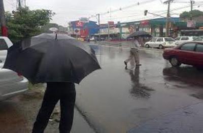 Lluvias dispersas para este lunes