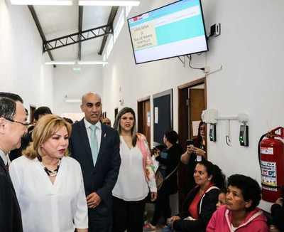 Centro Ciudad Mujer inaugura sistema con fichas y recetas electrónicas