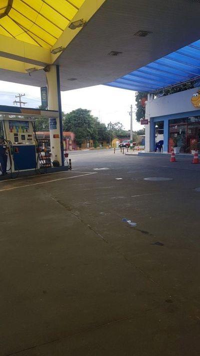 Violento asalto en gasolinera de Ypacaraí