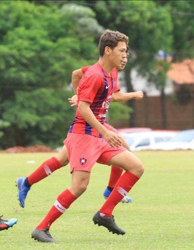 Sub 14: Un gol le sirve a Cerro para mantenerse en la cima
