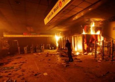 ¡Impresionante! Las violentas protestas de Chile resumidas en fotos