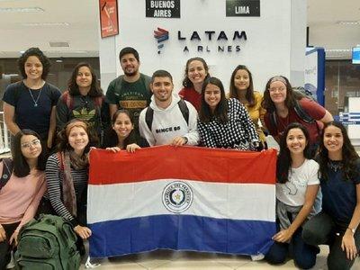 Universitarios paraguayos están varados en Chile a causa de las protestas