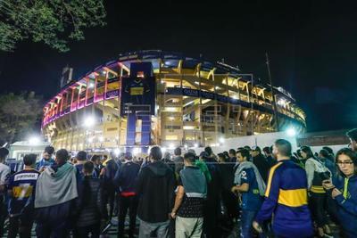 La mítica Bombonera, lista para otro histórico partido