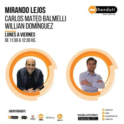 Mirando lejos con Carlos Mateo Balmelli y Willian Domínguez » Ñanduti