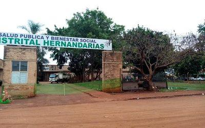 Inician obras de revitalización en hospital de Hernandarias