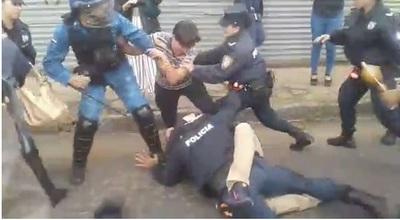 Incidentes en el Botánico generan represión y detenidos