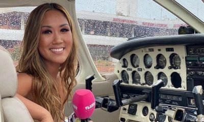 La primera vez de Yolanda Park como piloto