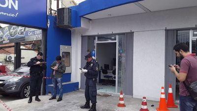 Fernando de la Mora: maleante muere en intento de asalto a financiera