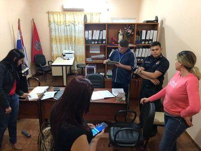 Allanan Dirección de Policía de Alto Paraná