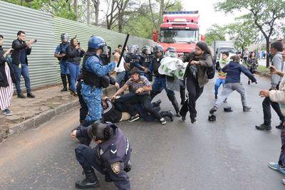 Botánico: Con represión inician la tala de árboles