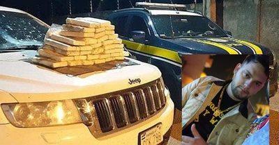 Franqueños caen con cocaína en Brasil