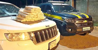 Pareja de franqueños cae con 40 kilos de cocaína en Brasil