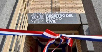 Funcionarios del Registro Civil atenderán casos urgentes e impostergables