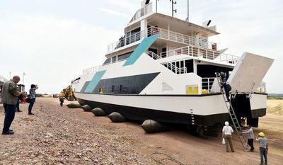 """""""Ferry del Chaco"""" será nueva opción de transporte fluvial y atractivo turístico"""