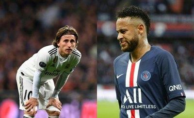 Neymar y Modric, ausentes en nómina de finalistas al Balón de Oro