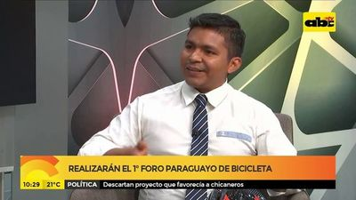 Realizarán el  1° foro paraguayo de bicicleta
