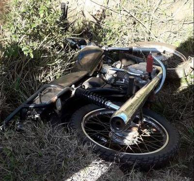 Encuentran motocicleta usada por sicarios que asesinaron a agricultor en Concepción