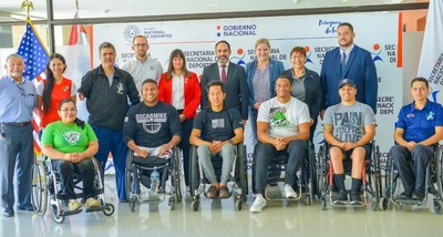 El Club Yakaruedas y atletas norteamericanos promoverán el rugby en silla de ruedas