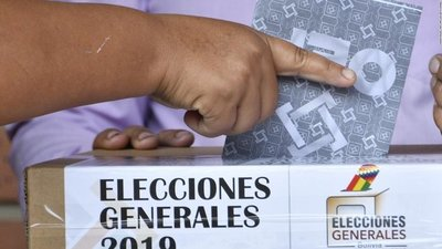 Opositores de Bolivia denuncian manipulación de resultados